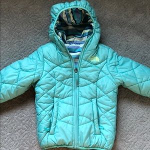 EUC The North Face Little Girls Winter Coat.